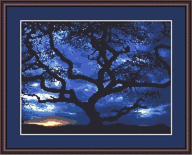 Tanzania Tree Framed